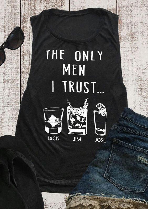 The only men I trust Tanktop AL11AG0