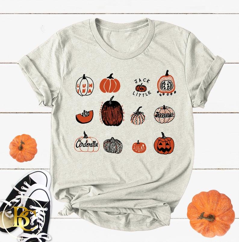 Pumkin Halloween T-Shirt AL5S0