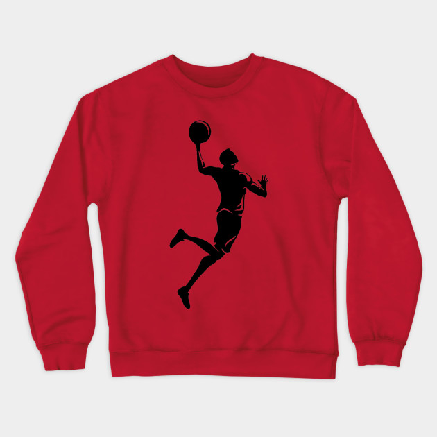 Basketball Player Sweatshirt SR10N0