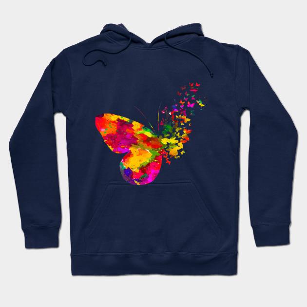 Butterfly Art Hoodie SR10N0