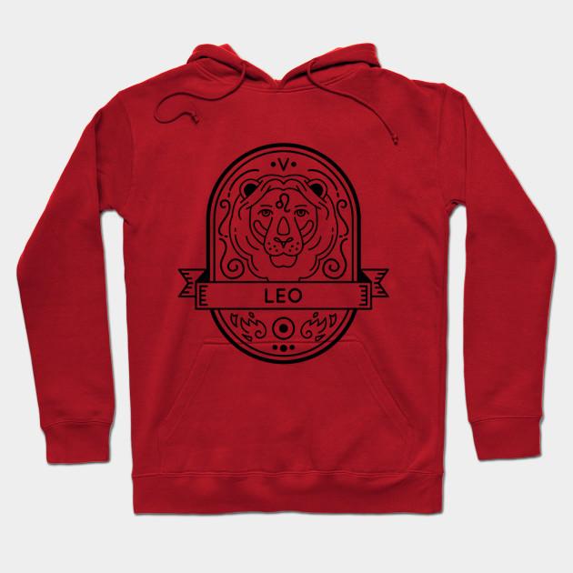 Leo Zodiac Hoodie SR10N0