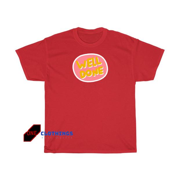 Well done T shirt SR30N0