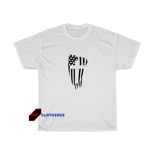American Flag Tshirt SR5D0