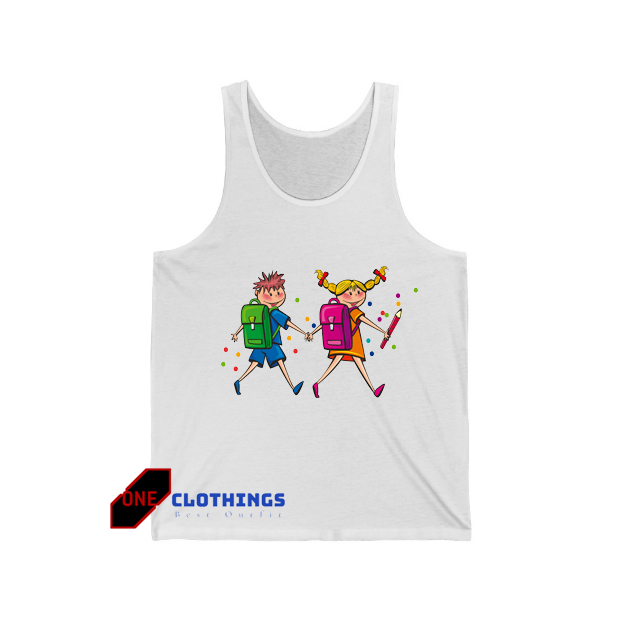 Back To School With Friends TAnktop SR14D0