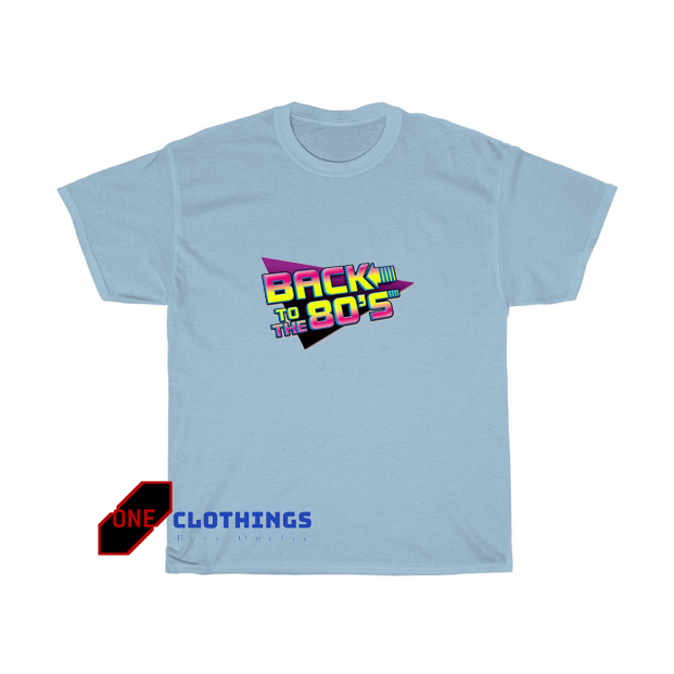 Back To The 80'S Tshirt SR11D0