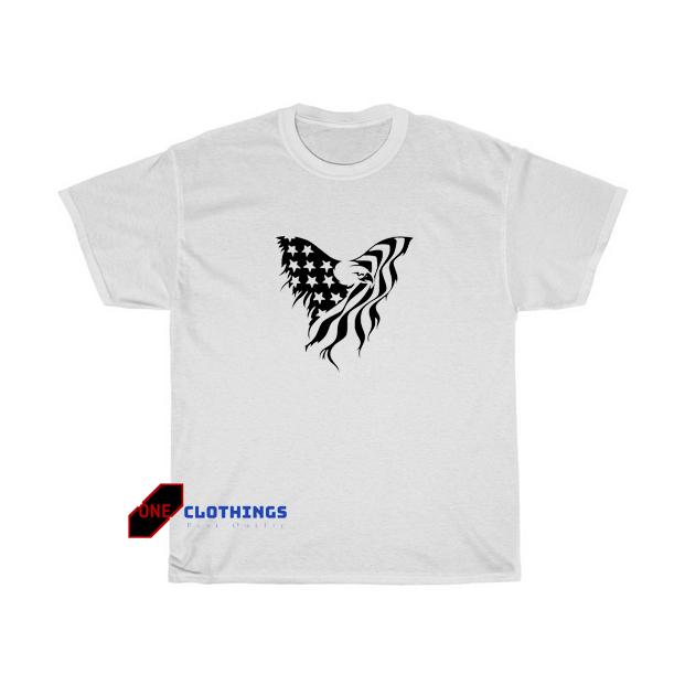 Bald Eagle American Tshirt SR5D0