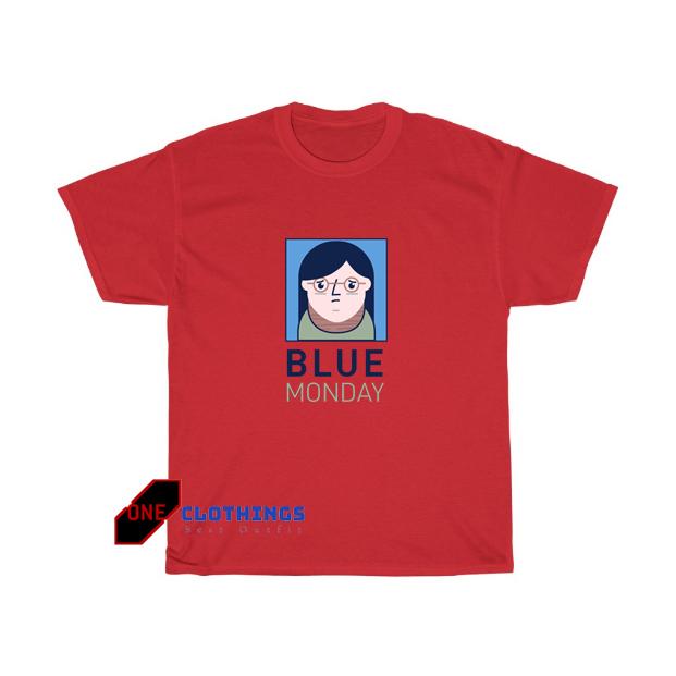 Blue Monday Girl Tshirt SR14D0