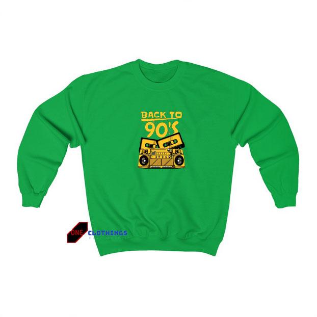 Back To 90 sweatshirt SY18JN1