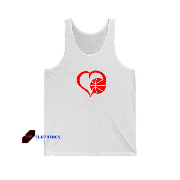 Love Basketball Tank Top SA12JN1