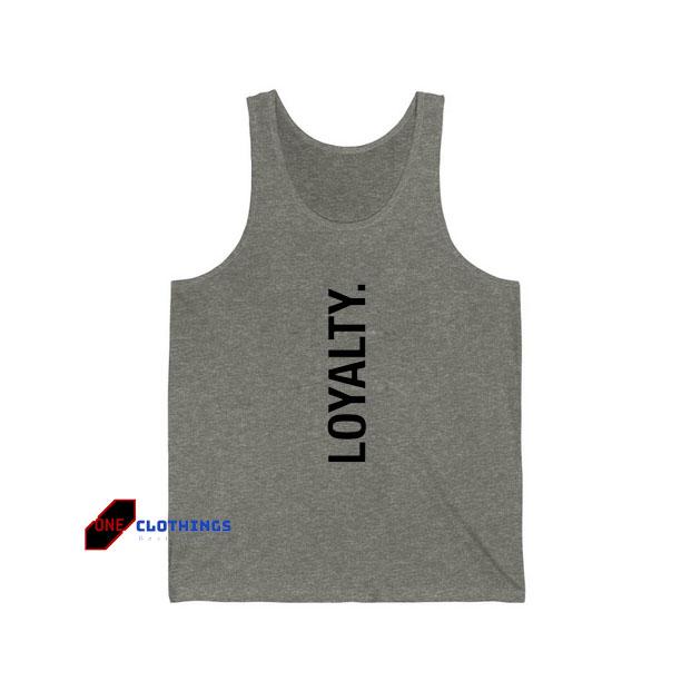 Loyalty Tank Top SA12JN1