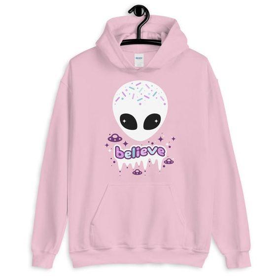Believe in Aliens Hoodie EL10F1