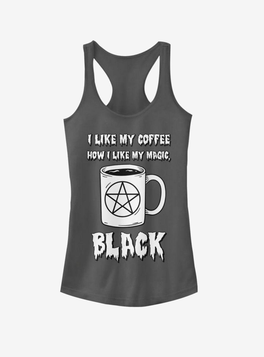 Black Coffee Magic Girls Tanktop AL25F1