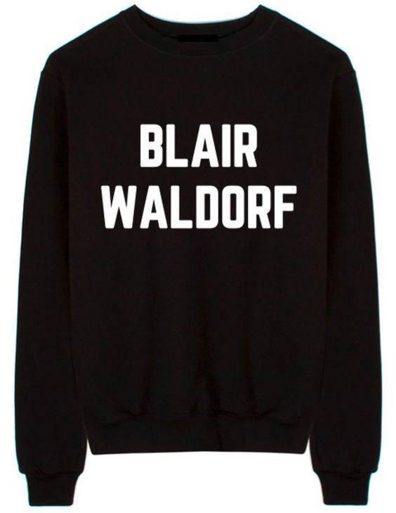 Blair Waldorf Sweatshirt SD18F1