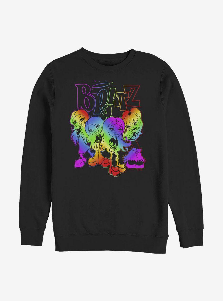 Bratz Rainbow Bratz Crew Sweatshirt AL15F1