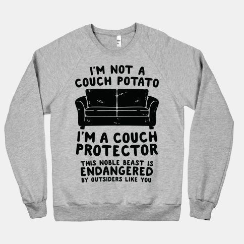 Couch Protector Sweatshirt SD16F1