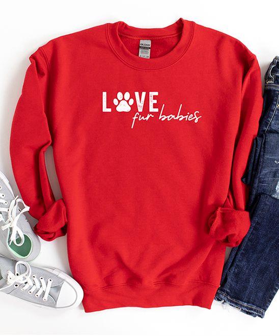 Love Fur Babies Sweatshirt EL22F1
