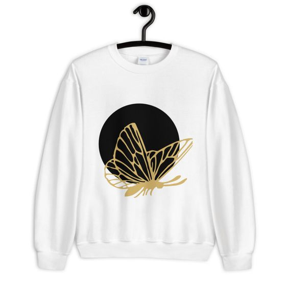 Moonlight Butterfly Sweatshirt EL5F1