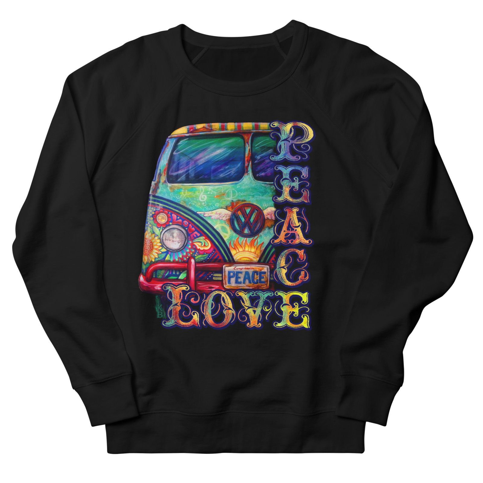 Peace and Love Sweatshirt AL15F1
