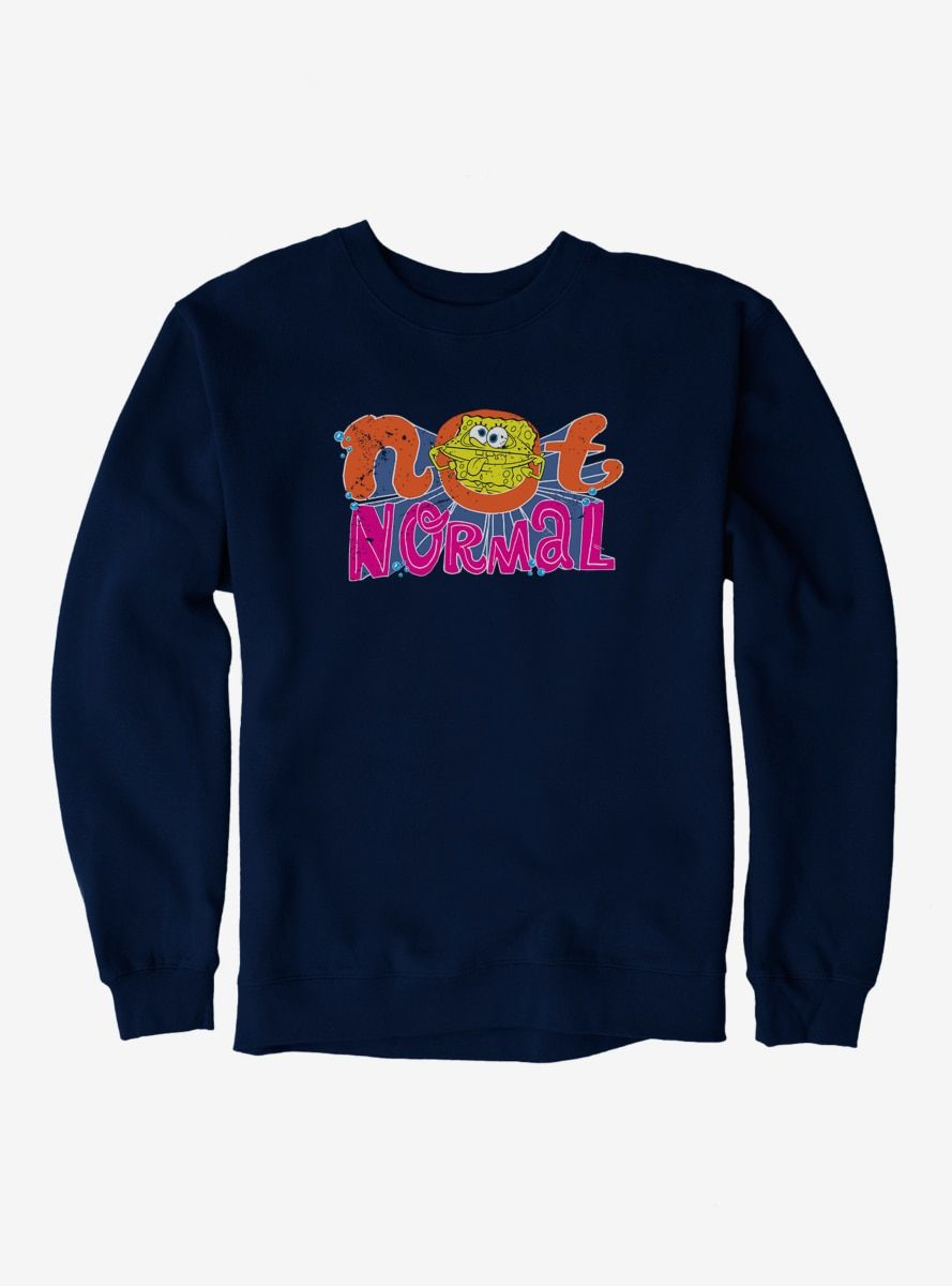 Not Normal Sponge Sweatshirt AL15F1