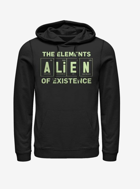 Alien Existence Element Hoodie AG18MA1