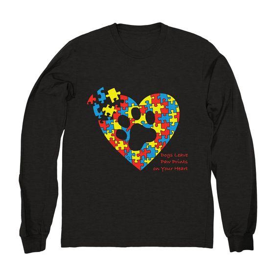 Autism Service Dog Sweatshirt EL9MA1