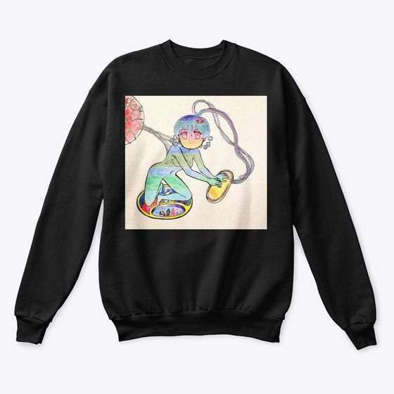 Machine Mou Sweatshirt AL6MA1
