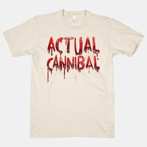 Actual Cannibal T-Shirt EL9A1