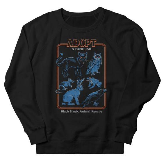 Adopt a Familiar Sweatshirt PU22A1