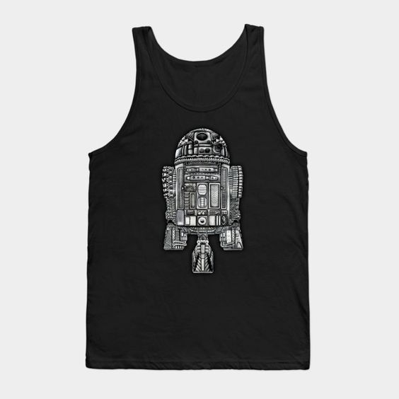 Aztec Droid Robot Tank Top FA1A1