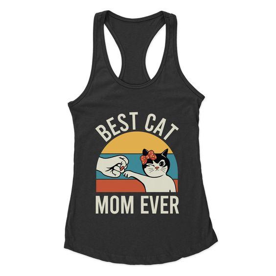 Best Cat Mom Ever Tanktop SD10A1