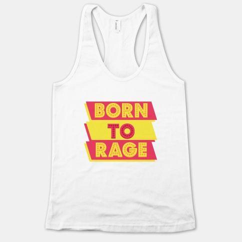 Born To Rage Tank Top EL12A1