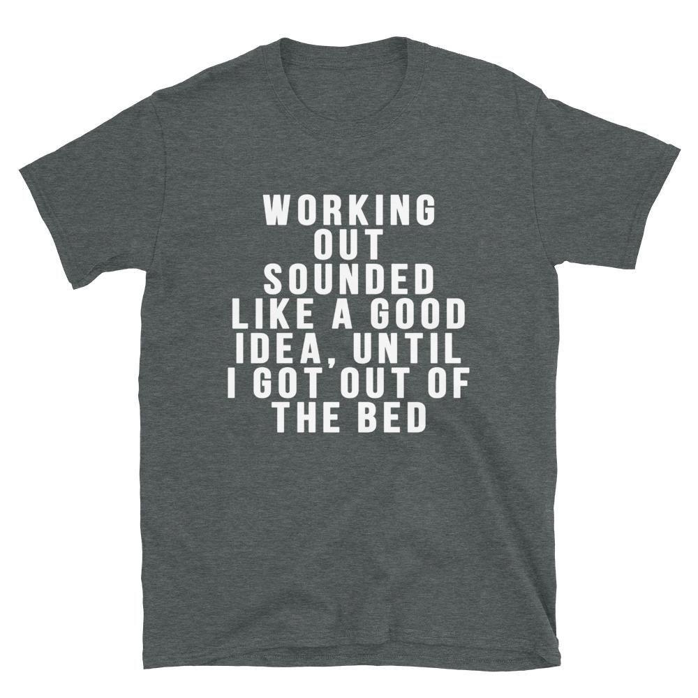 Good Idea Dark Heather T-Shirt AL3M1