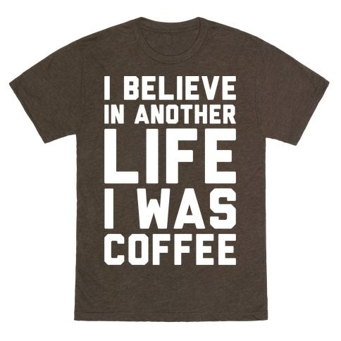 I Believe In Another Life I Was T-Shirt AL3M1